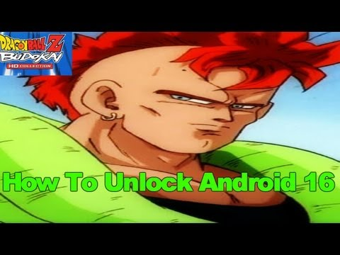 How To Unlock Android 16 - Dragon Ball Z Budokai 3 HD Collection
