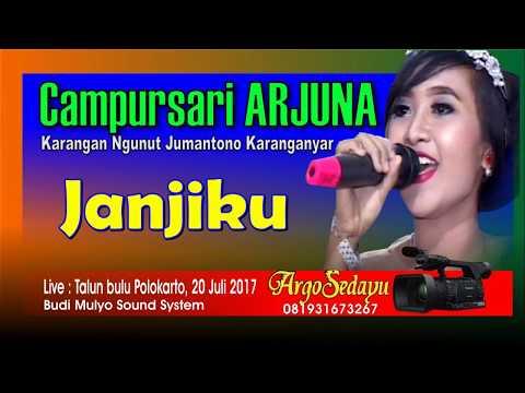 Lirik Lagu JANJIKU (Duet) Sragenan Karawitan Campursari - AnekaNews.net