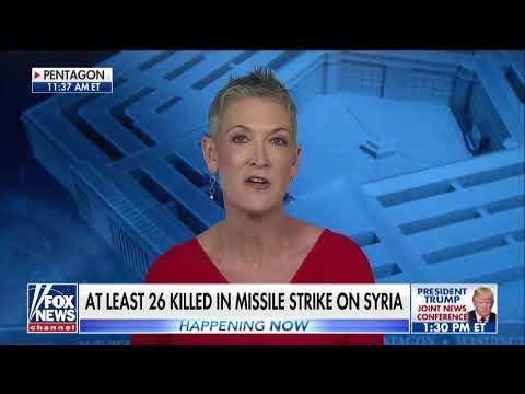 At Least 26 People Killed In Missile Strike On Syria