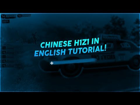 H1Z1 Chinese Client With English Text