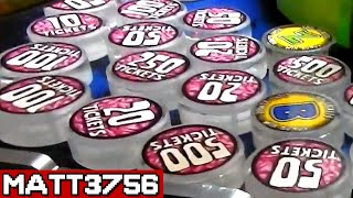 DESTROYING an Overfilled Prize Arm - TONS of TICKETS! | Arcade Nerd |