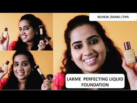 Lakme Perfecting Liquid Foundation Review & Demo | With Tips | Affordable Foundation