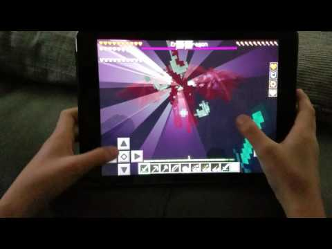Minecraft Pocket Edition: Quest to kill the Ender Dragon