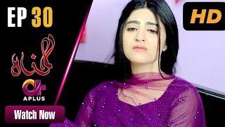 Gunnah - Episode 30 | Aplus Dramas | Sara Elahi, Shamoon Abbasi, Asad Malik | Pakistani Drama