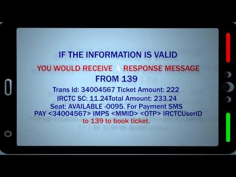 Railway Ticket SMS Booking