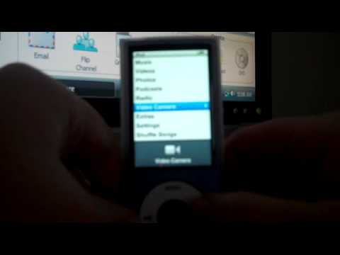 how to delete videos on the ipod nano 5th generation