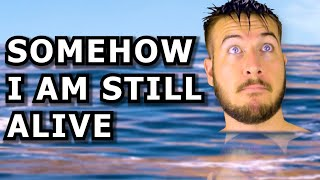 The First Guy To Ever Swim