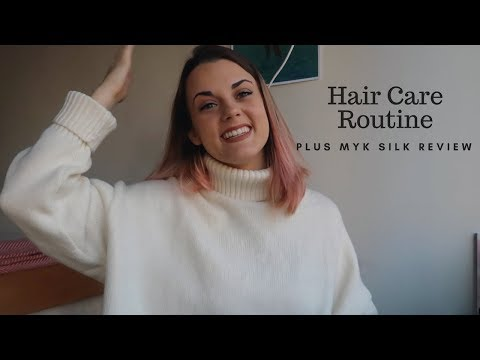 How I Keep My Hair Healthy Even After Bleaching + MYK Silk Review