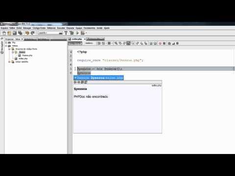 Criando a primeira classe e objeto com PHP OO