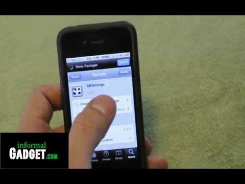 How-to hide/delete apps like Cydia on any Jailbroken iPhone 4/4S, 3GS, iPad, iPod with SBSettings