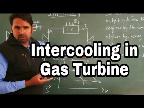 Intercooling in Gas Turbine | Regeneration in Brayton Cycle in Hindi by Qaiser | Study Channel