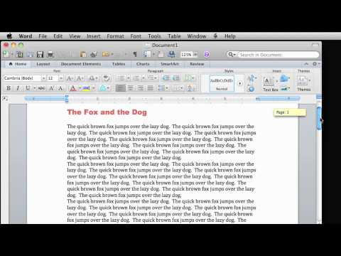 Lesson 6 - Copy, paste, and drag in Word