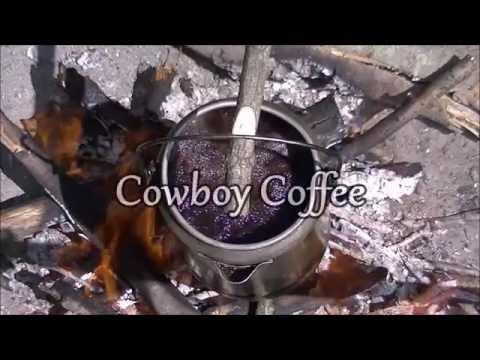 Campfire Kitchen Series- Cowboy Coffee **Sugar and Creamer Warning***