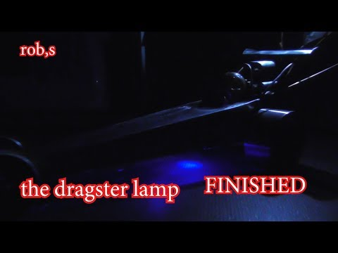 The dragster lights up my night. finished ...