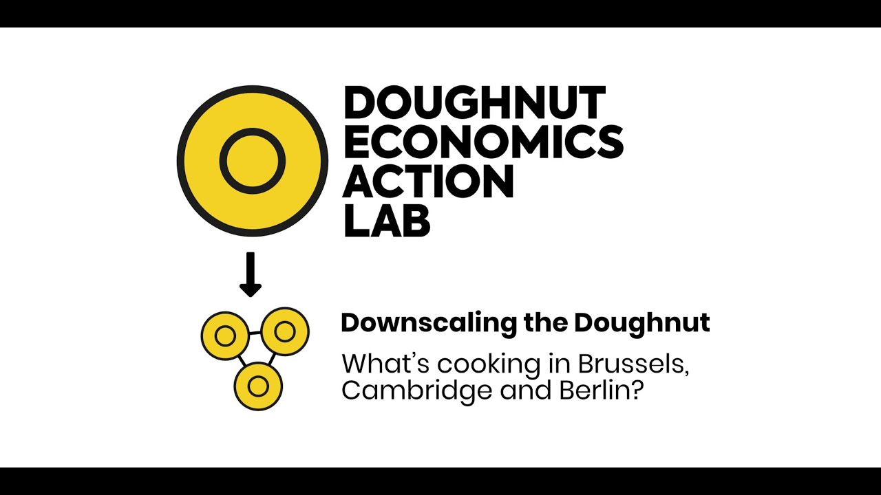 Downscaling the Doughnut: what's cooking in Brussels, Cambridge and Berlin?