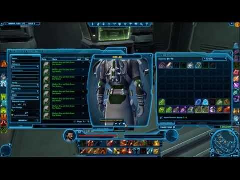 SWTOR - Update 2.1 - New Armor Dye System