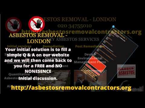 Asbestos Removal London  | Residential Asbestos Removal | Asbestos Survey London