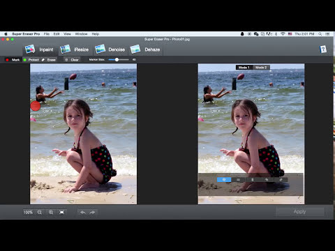 How to instantly erase unwanted items from images on Mac?