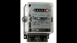 opening an electric meter (very interesting)