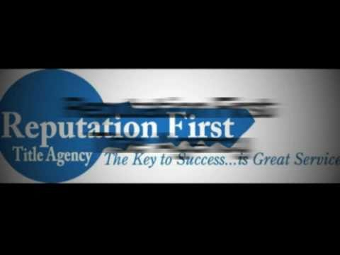 Reputation First Title Agency, Michigan's Best Title Service