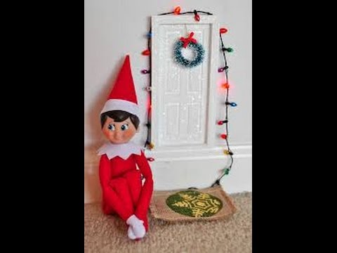 How to touch your Elf on the Shelf with out it's magic leaving! 😀