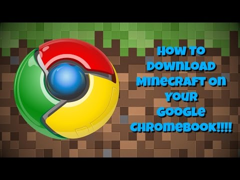 How to get Minecraft on your Chromebook! VERY EASY STEPS!!!