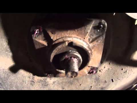 lawnmower deck bearing replacement  How To