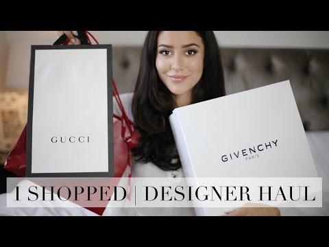 Designer Haul | Gucci, Givenchy, Jimmy Choo | Tamara Kalinic