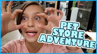 🐶🐶PET STORE ADVENTURES!!🐶🐶 SMELLY BELLY TV | FAMILY VLOG
