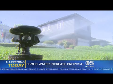 WATER RATES: EBMUD officials consist a rate increase for water delivery