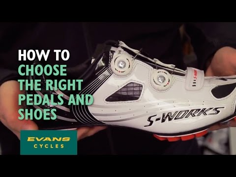 How to choose the right bike pedals and cycling shoes