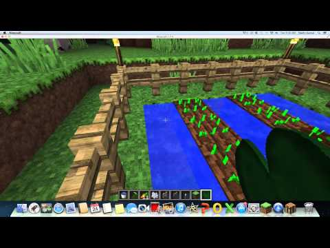 How to make an Effective Plant Farm - Minecraft