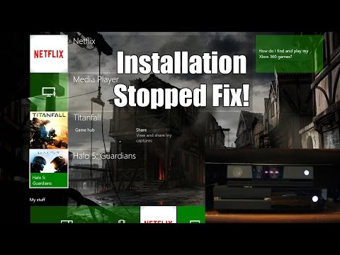 How to Fix Installation Stopped Issue on Xbox One