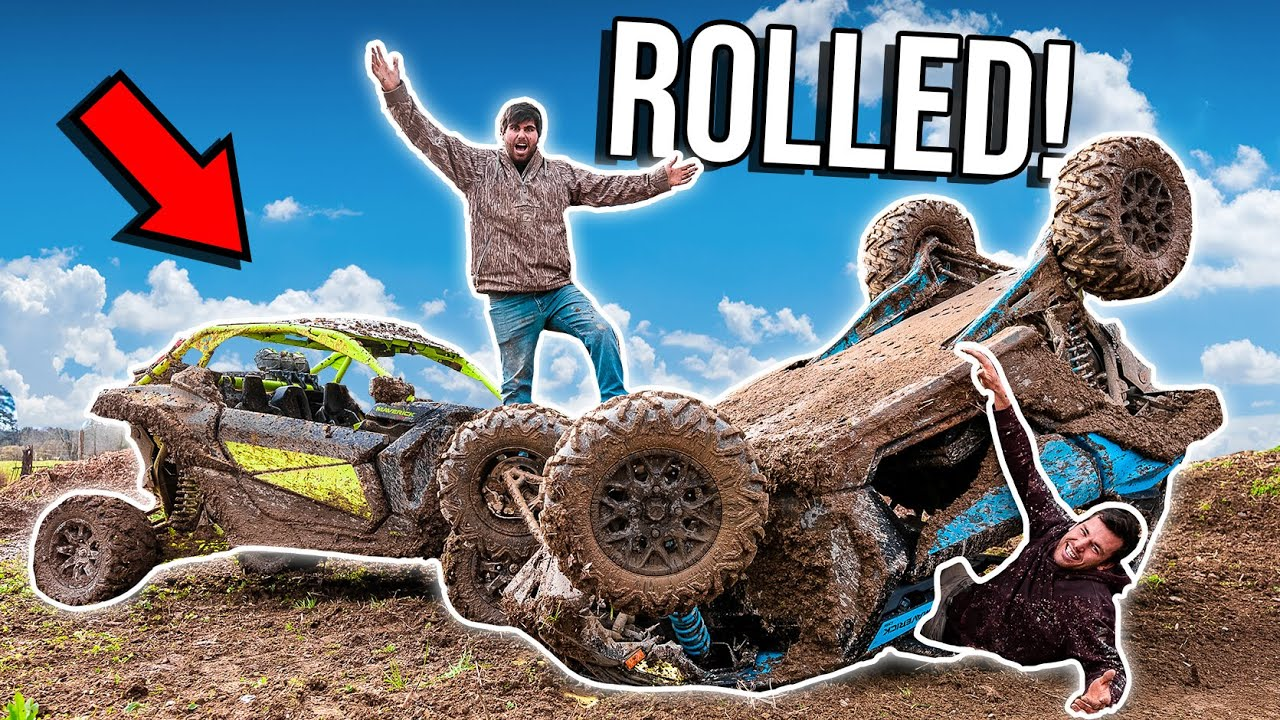 KYLE ROLLED HIS BRAND NEW CAN-AM X3! *EPIC CARNAGE*