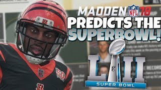 MADDEN 18 PREDICTS THIS YEAR