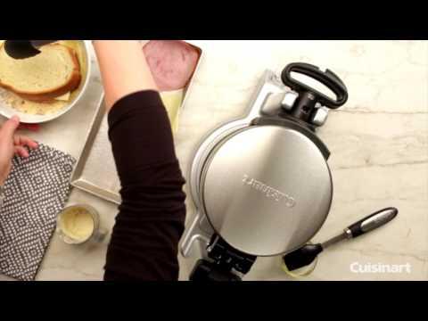 Breakfast Express® Belgian Waffle & Omelet Maker Demo (WAF-B50)