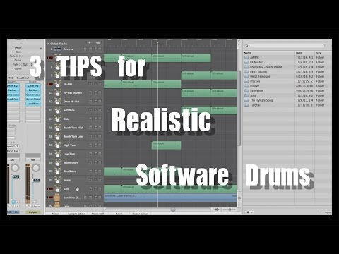 3 Tips for Making Software Drums Sound More Realistic