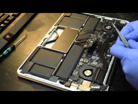 Changing Thermal Paste on a MacBook Pro