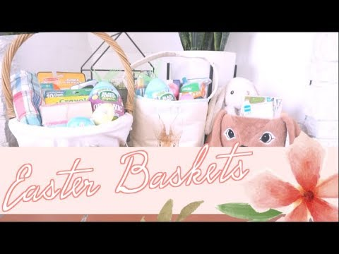 Toddler & Baby Easter Baskets for Under $20 | What's in My Kids' Easter Baskets