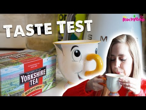 Yorkshire Girl Tries Yorkshire Tea BISCUIT BREW!