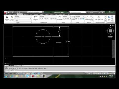 AutoCAD II 20-10 Overriding Dimension Style   Existing Dimensions