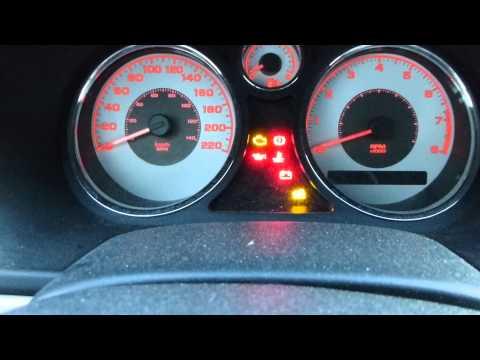 2007 chevy cobalt dashboard lights