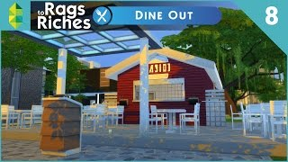 The Sims 4 Dine Out  Rags To Riches  Part 8