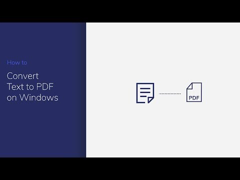 Convert Text to PDF on Windows with PDFelement