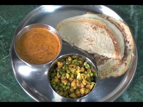 INSTANTS OATS DOSA RECIPE WITH CHUTNEY / HOW TO MAKE OATS DOSA RECIPE