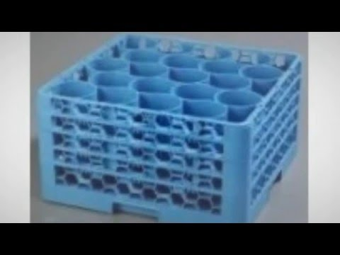 OptiClean NeWave 20 Compartment Glass Rack