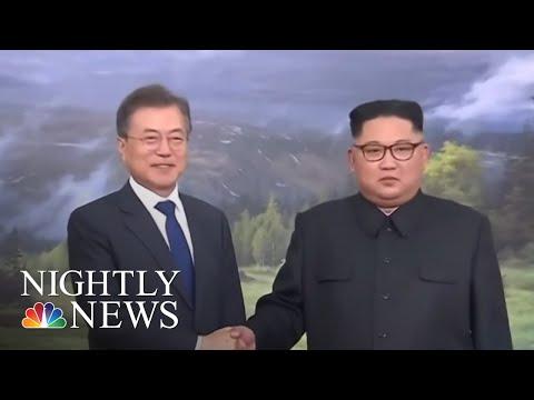 U.S. Delegation Arrives For Talks On Summit With North Korea | NBC Nightly News