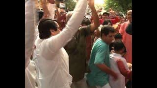 Sharad Ananda: Veteran actor Ranjit Mullick dance on Vijaya Dashami