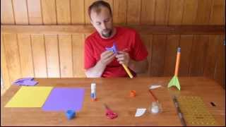 How To Make A Paper Rocket That Flies.