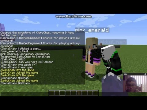 MINECRAFT REALMS #1 | HOW TO CHANGE YOUR USERNAME ft ZakkuChan And Allison!